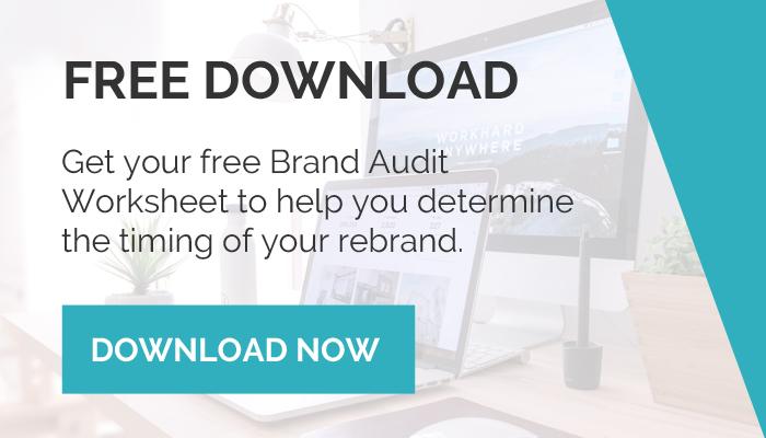 Download FREE Brand Audit Worksheet