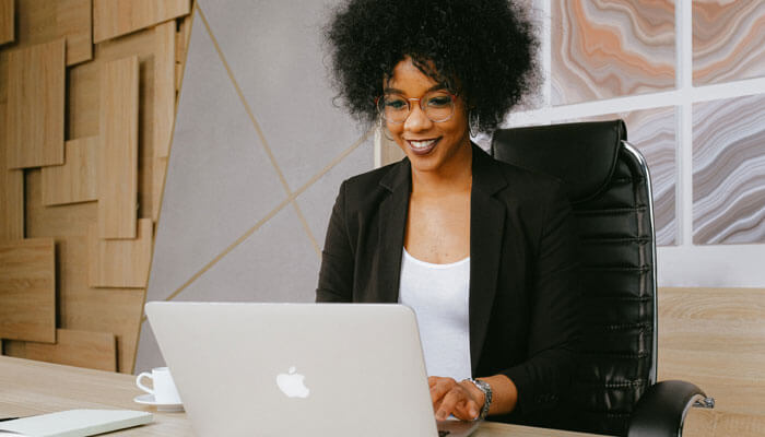 black-owned business woman