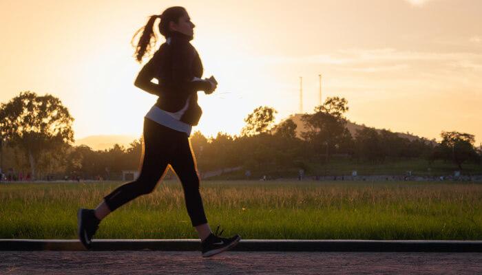 mental health jogging